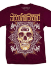 "Men's ""Celtic Skull"" Tee by Steadfast Brand (Maroon)"