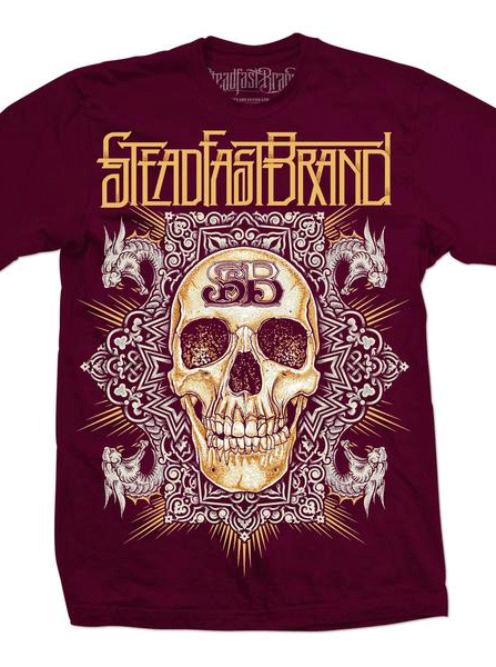 Men's Celtic Skull Tee by Steadfast Brand