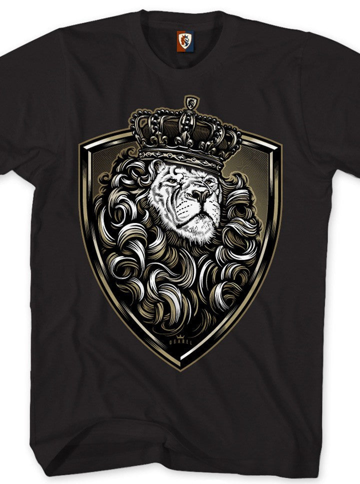 "Men's ""Crown Shield"" Tee by OG Abel (Black) - www.inkedshop.com"