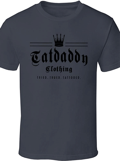 "Men's ""Crown Me"" Tee by Tat Daddy (More Options)"