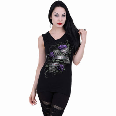 Women's Every Rose Tank by Spiral USA