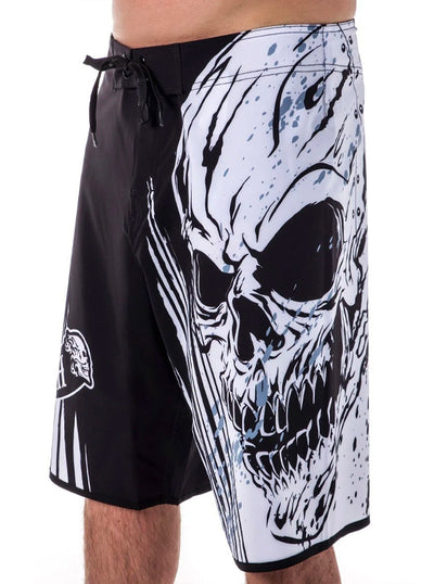 Men's Devil Luck Board Shorts by Headrush Brand