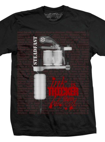 Men's DK X-RAY Tattoo Machine Tee By Steadfast Brand