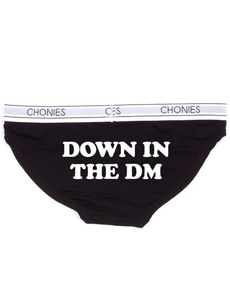 Women's Down in the DM Classic Brief by Chonies