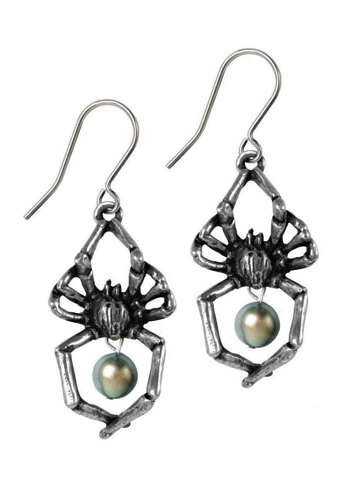 """Glistercreep"" Earrings by Alchemy of England - www.inkedshop.com"