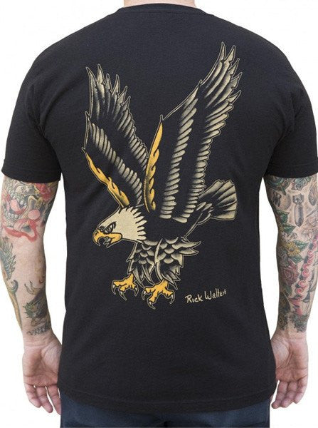Men's Eagle Tee by Black Market Art