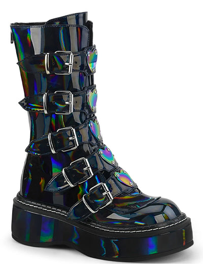 Women's Emily 330 Knee High Boots by Demonia