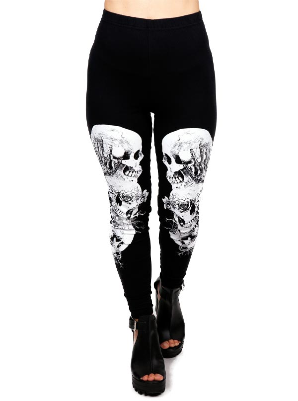 Women's Still Evil Leggings by Jawbreaker
