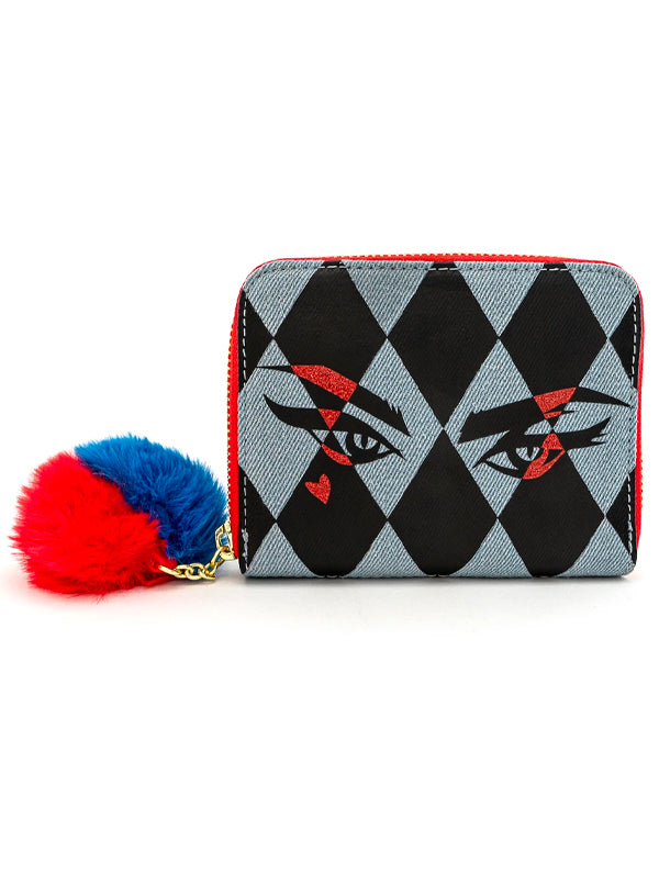 DC Comics: Birds Of Prey Harley Eyes Wallet by Loungefly