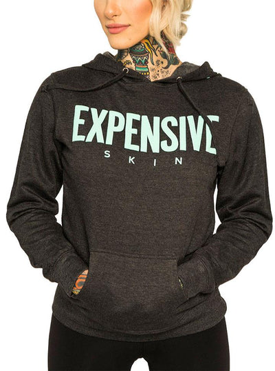 "Women's ""Expensive Skin Puff"" Pullover Hoodie by InkAddict (More Options)"