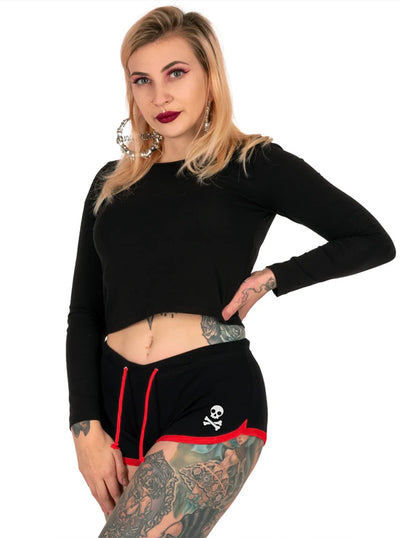 Women's F Christmas Shorts by Too Fast
