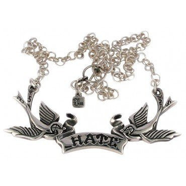 Hate Birds Necklace by Femme Metale - InkedShop - 1