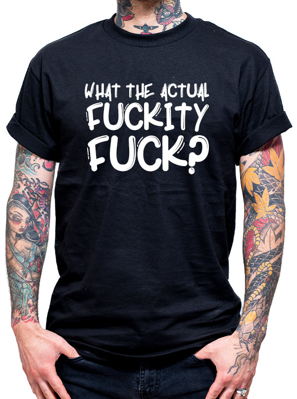 Unisex Fuckity Fuck Tee by Dirty Shirty
