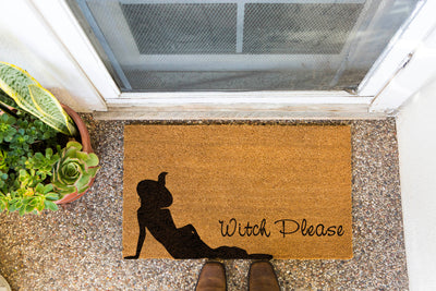 Witch Please Doormat by Funny Welcome