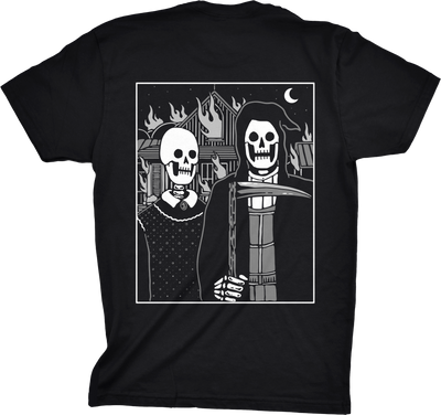Unisex Farmer Tee by Ghost and Darkness