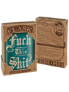 """Fuck This Shit"" Flask by Trixie & Milo"