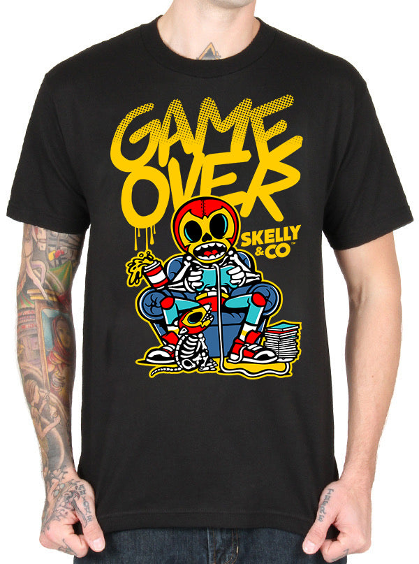 MEN'S GAME OVER TEE BY SKELLY & CO