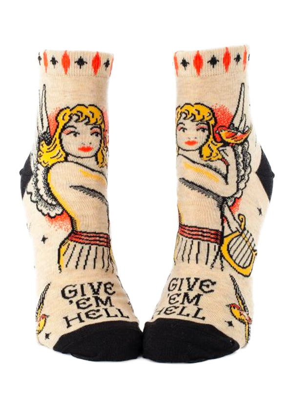 Women's Give 'Em Hell Ankle Socks
