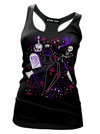 "Women's ""Ghoulie Girl Flash"" Tank by Pinky Star (Black)"
