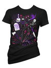 "Women's ""Ghoulie Girl Flash"" Tee by Pinky Star (Black)"