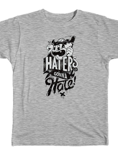 Unisex Haters Tee by Bulldog Screen Prints