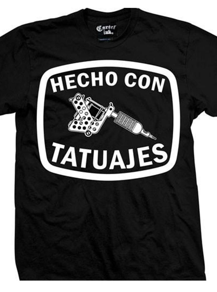 Men's Hecho Con Tataujes Tee by Cartel Ink