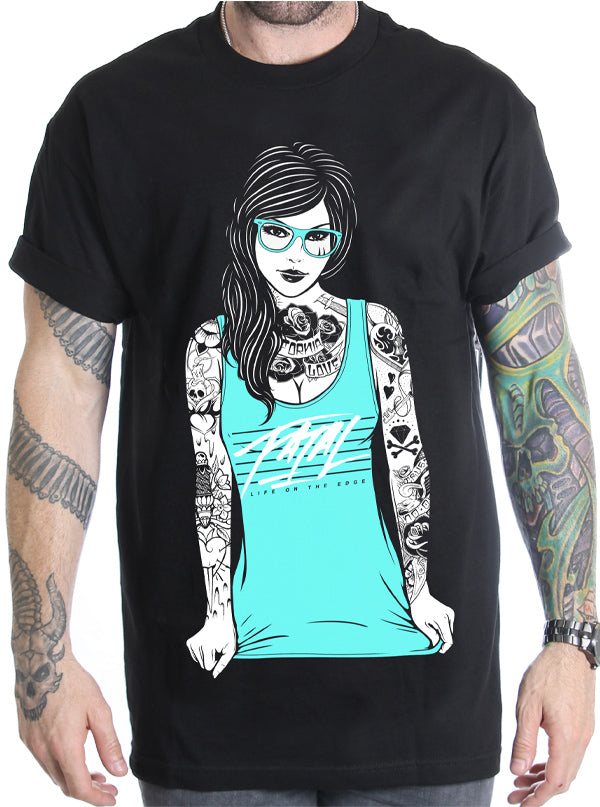 Men's Hipster Tee by Fatal Clothing