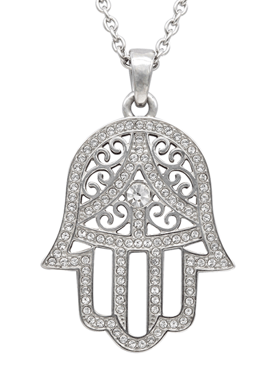 """Hamsa"" Necklace by Controse (Stainless Steel)"