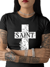 Women's Heaven Sent, Hell Bound Tee by Tat Daddy