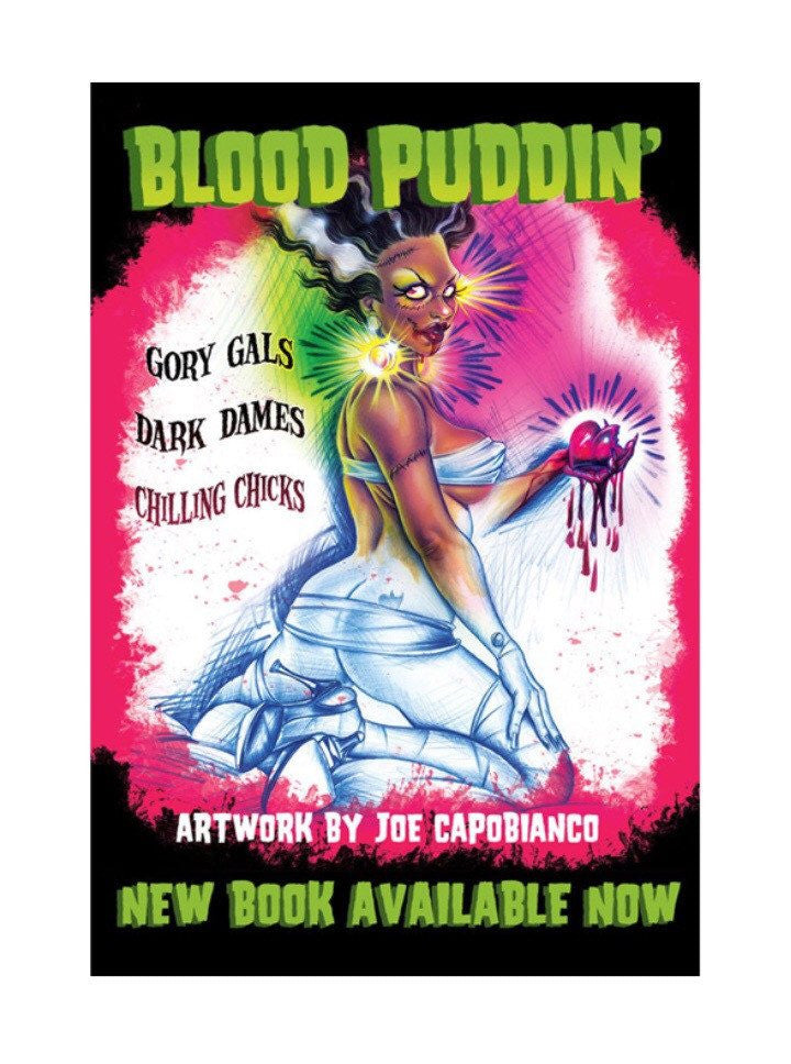 """Blood Puddin'"" by Joe Capobianco - www.inkedshop.com"