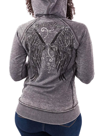 Women's Immortal Hoodie by Lethal Angel