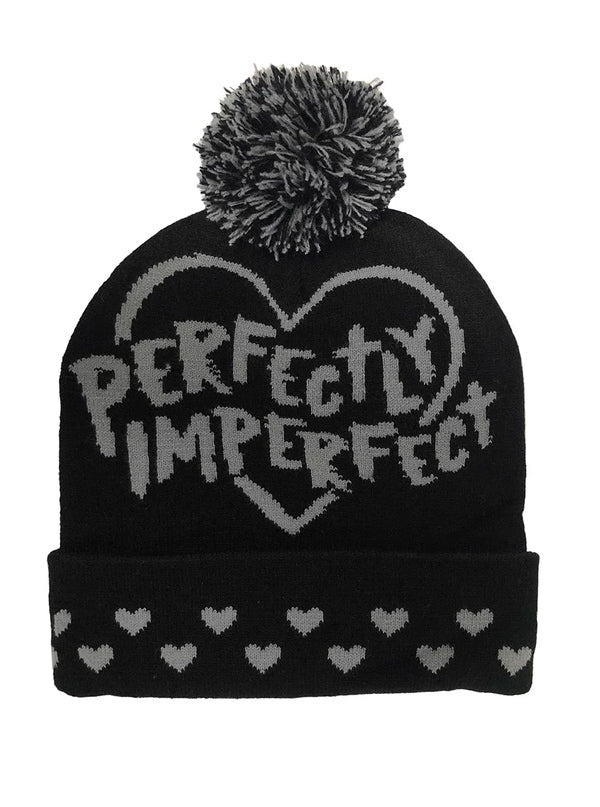 Perfectly Imperfect Knit Beanie by Beautiful Disaster