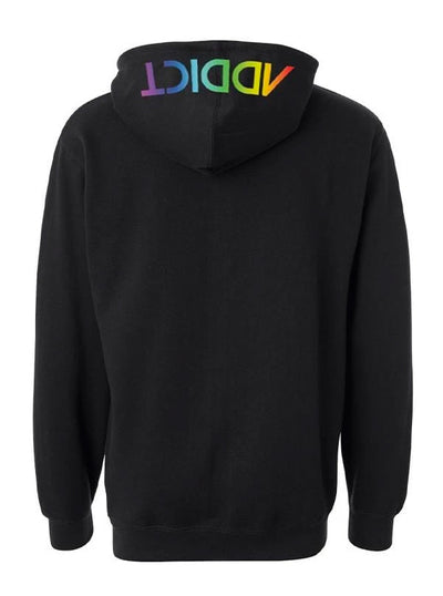 Men's INK Rainbow Hoodie by InkAddict