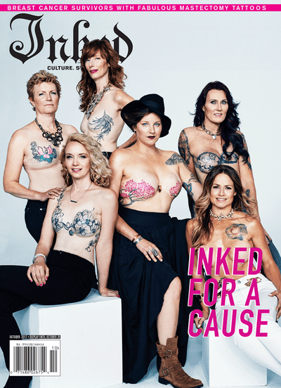 "Inked Magazine ""Inked For A Cause"" Edition (2 Cover Options) - October 2017"