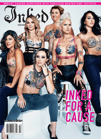 Inked Magazine Inked For A Cause Edition (2 Cover Options) - October 2017