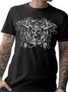 "Men's ""Iron Warrior"" Tee by Tat Daddy (Black)"