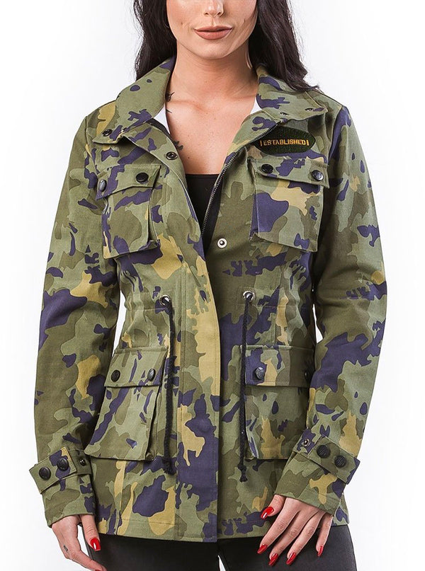 Women's Ride Saly Ride Military Jacket by Headrush Brand