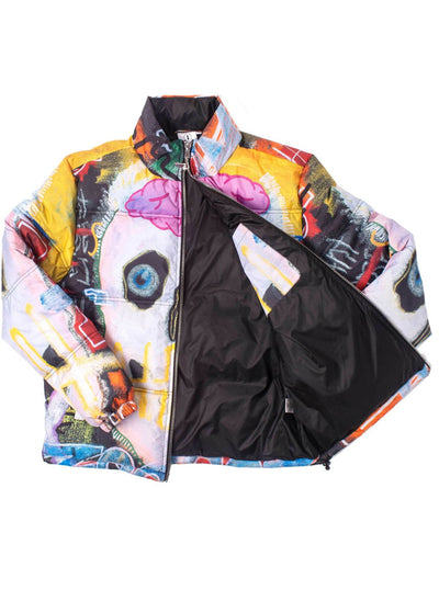 Men's I Want My Roses Puffer Jacket by Tango Hotel