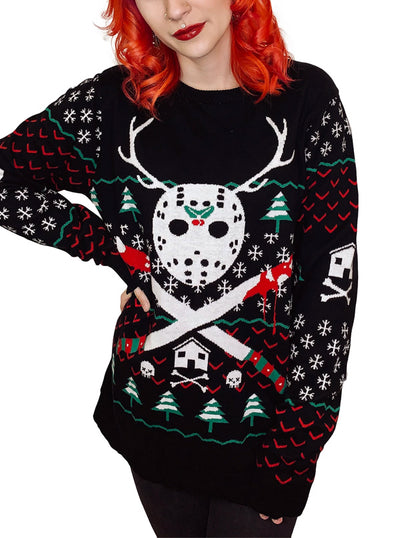 Women's Reindeer Games Ugly Christmas Sweater by Too Fast