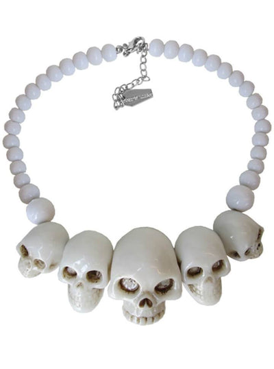 Skull Collection Necklace (More Options) by Kreepsville 666 - www.inkedshop.com