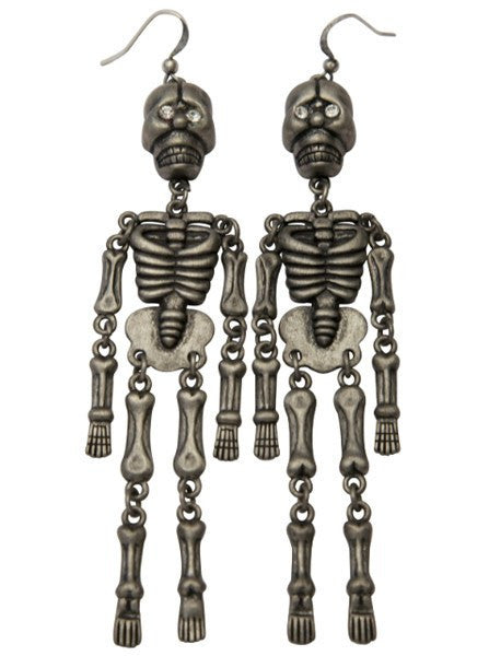 Skeleton Dangles by Kitsch 'n' Kouture - www.inkedshop.com