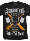 "Men's ""Killer Art"" Tee by Steadfast Brand (Black)"