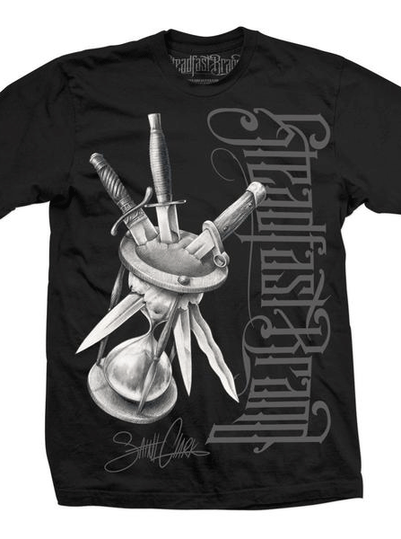 "Men's ""Killing Time"" Tee by Steadfast Brand (Black)"