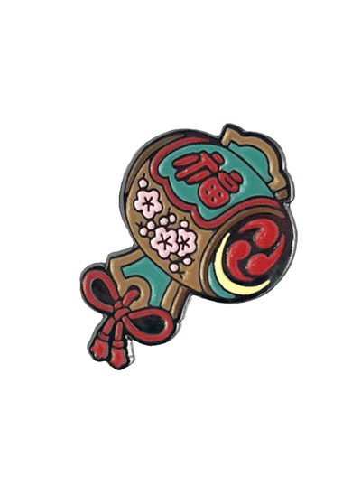 Kozuchi Pin Designed by Nami by Three Tides Tattoo