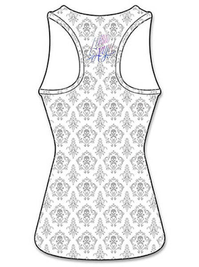 "Women's ""Painted Soul"" Sublimation Tank by Lethal Angel (White) - www.inkedshop.com"