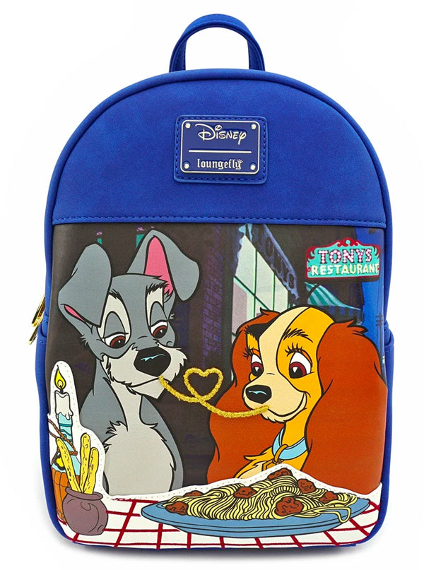 Disney: Lady & The Tramp Mini Backpack by Loungefly