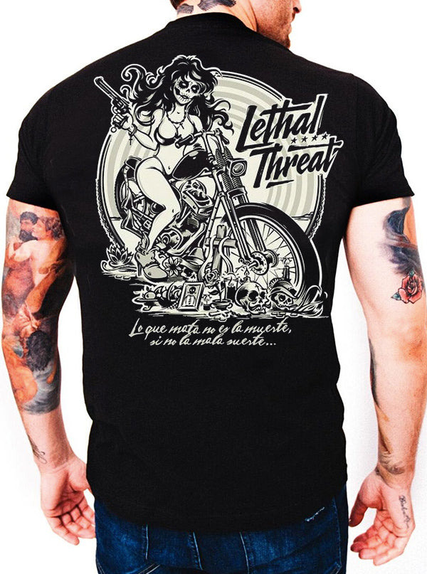 Men's La Muerte Tee by Lethal Threat