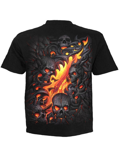 Men's Skull Lava Tee by Spiral USA