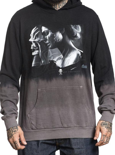 Men's Layers Hoodie by Sullen (Black/Grey)