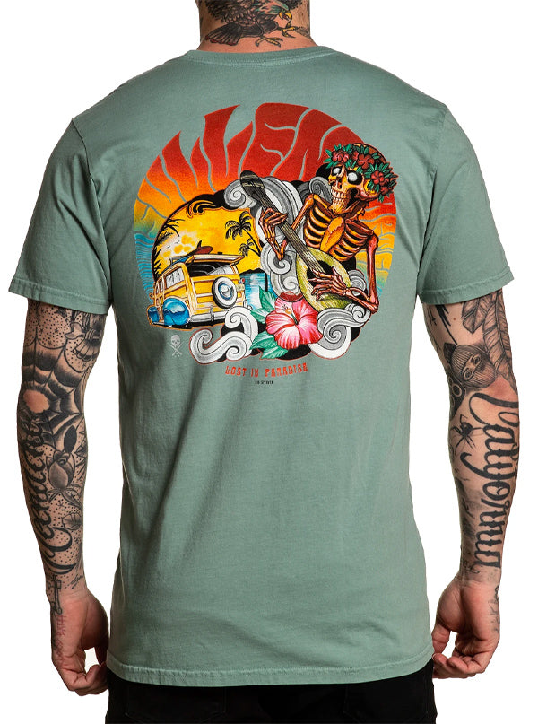 Men's Lost in Paradise Tee by Sullen